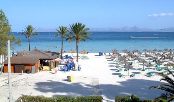 Playa de alcudia, de plek voor een familie vakantie