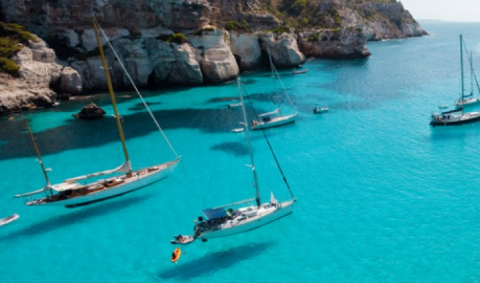 Zeilen op Mallorca
